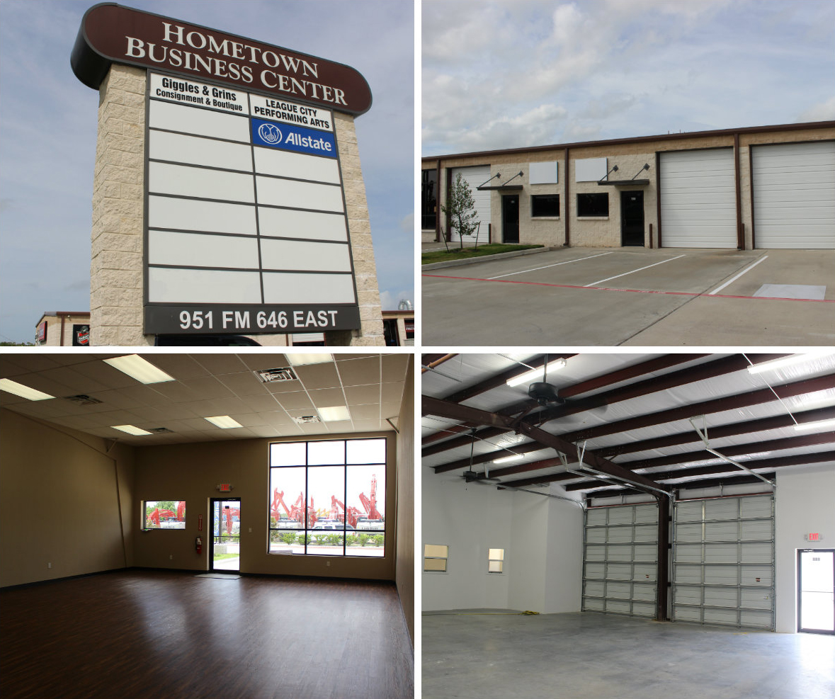 FOR LEASE! Hometown Business Center Office/Warehouses for Lease